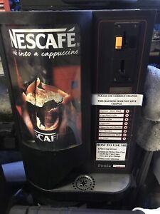 SONIA TECNO MATIC COIN VENDING COFFEE MACHINE $800 ONO