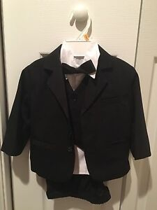 Black tuxedo with ties