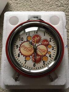 Cola-Cola Quartz Alarm Clock