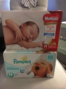 SWAP: Looking to swap Newborn Diapers for Size 1 diapers