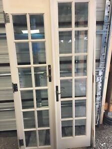Interior/Exterior French Doors.