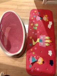 Angelcare baby bath and mat