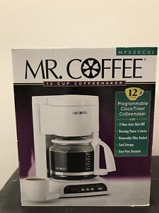 Brand new Mr. Coffee maker for sale