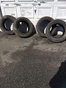 """2 paires pneus 17"""" 50$ pour 2"""