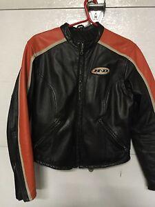 Manteau en cuir pour femme Harley Davidson