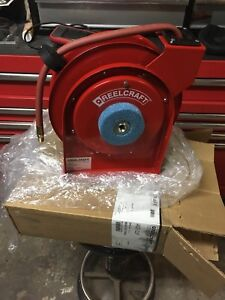 Reelcraft airhose reel brand new $125