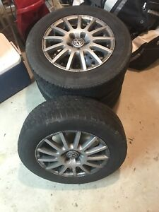 VW Rims + All season Tires