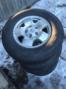 Toyota Tundra 5 bolt rims and tires