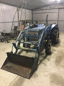 Iseki tractor, front end loader with rotary and hoe Oakford Serpentine Area Preview