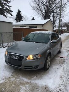 Selling my clean title 2007 Audi A4 Quattro turbo fully loaded