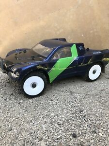 Traxxas slash 4x4 lcg upgraded