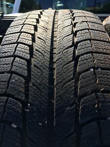 235-55-18 Michelin X-Ice winter tires