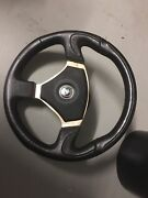 Aftermarket steering wheel with Nissan boss kit Helensvale Gold Coast North Preview