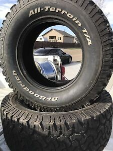 BF GOODRICH. TWO TIRES 305-65-18