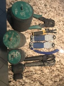 Lot of electrical tools