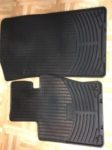 Tapis BMW mats rubber hiver winter