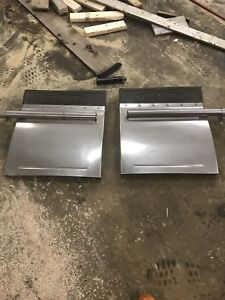 1/4 fenders for a highway truck