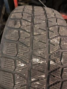 Two 215/55R17 winter tires