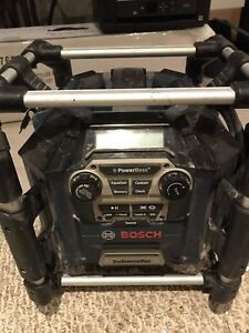 BOSCH stereo for work
