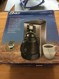 Oster 12-cup coffee maker
