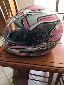 Woman's large bike helmet