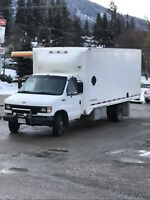 1 ton truck for hire with driver/helper