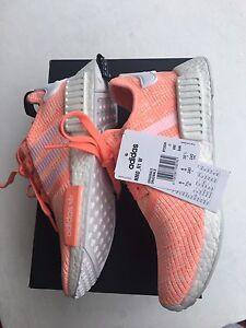 **PRICE DROP** BRAND NEW Women's US 7.5 Adidas NMD R1 Peach Hazelwood Park Burnside Area Preview