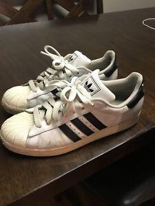 Men's Adidas Shell toe sneakers