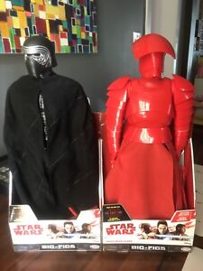 BNIB Star Wars Big-Figs Kylo REN and Praetorian Guard