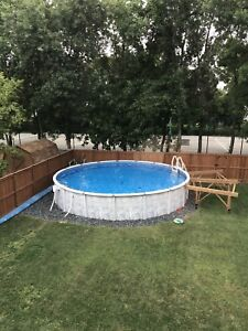 24' Round Above Ground Pool