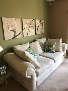 Sofa & matching love-seat and chair