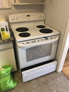 Stove and refrigerator for sale