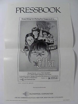 THE CHILDREN PRESSBOOK PB DRIVE-IN HORROR (1980)