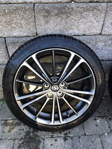 Scion FRS rims and tires