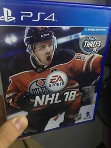 nhl 2018 ps4 comme neuf