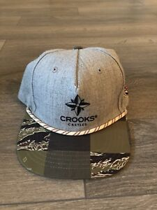 Crooks and Castle Snap back hat