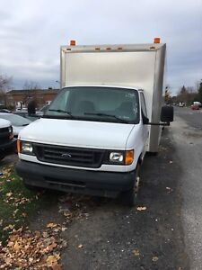 Ford Super Duty Diesel Dually Cube Van