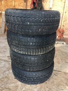 4 Uniroyal winter tires