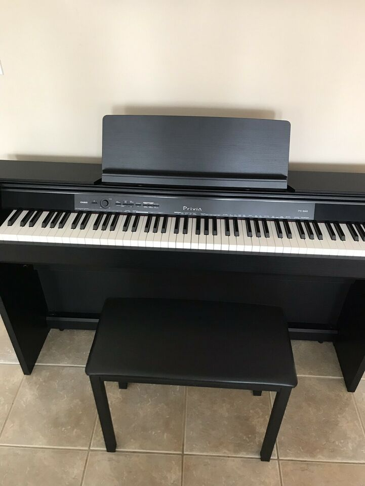 71291db621a Brand New Casio Privia PX-860 Digital Piano with Bench