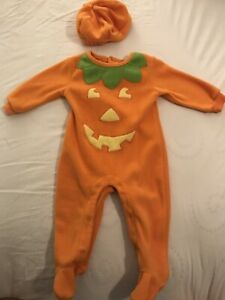 Pumpkin Jack O'Lantern Halloween costume for baby déguisement