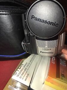 Panasonic PCM Stereo Camcorder Compatible with Tape & SD Cards