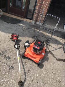 Looking for broken/ unwanted lawnmower & snowblowers to fix
