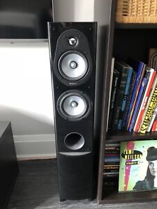 Energy Connoisseur speakers & Yamaha HD receiver