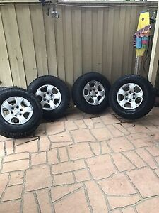 Tyres and rims Glenwood Blacktown Area Preview