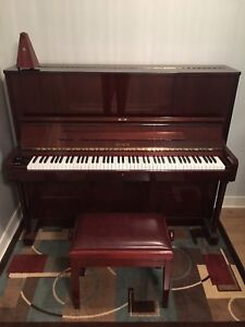 Pristine Upright Petrof Piano with Metronome & Accessory Pack