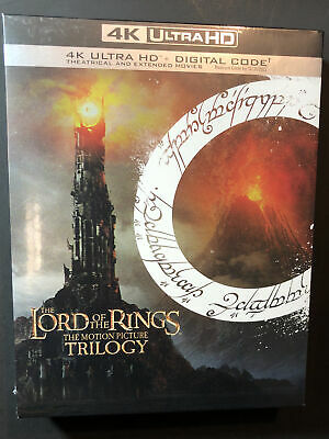 The Lord of the Rings The Motion Picture Trilogy (4K Ultra HD) NEW