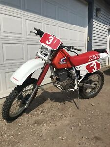Mint Condition Honda XR250R