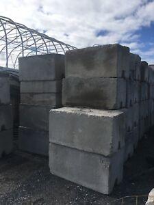 Liquidation blocs béton