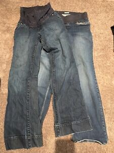 2 pair XS Maternity Jeans