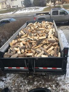 DRY SPLIT TAMARACK FIREWOOD DELIVERED